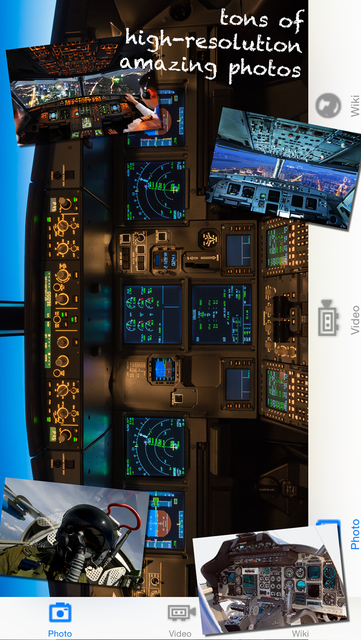 iCockpit - view from the airplane cockpit screenshot 2