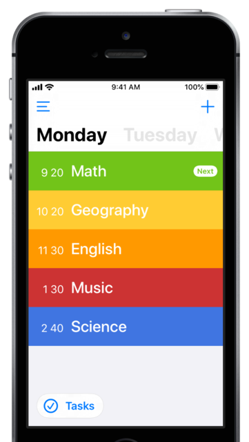 Class Timetable screenshot 1