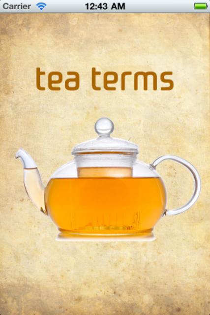 Tea Terms screenshot 1