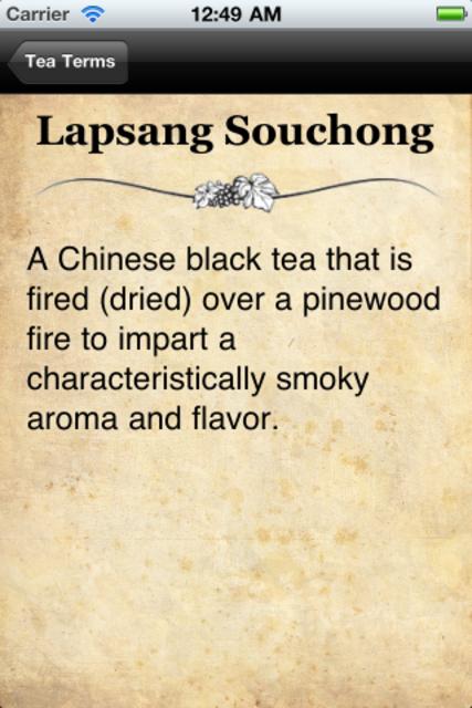 Tea Terms screenshot 3