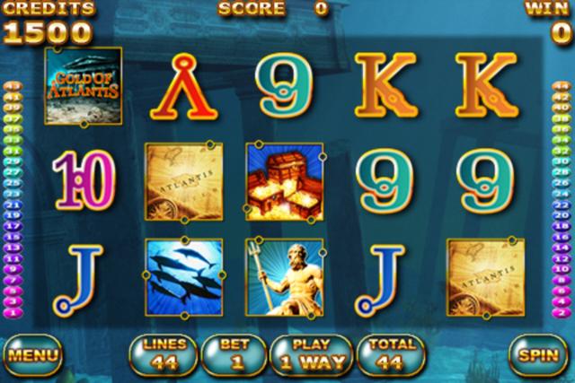 Gold of Atlantis HD screenshot 2