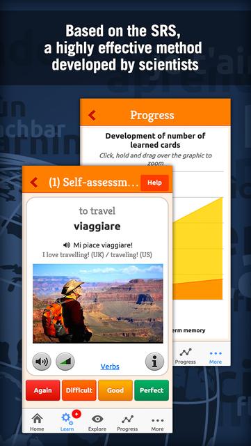 Learn Italian - MosaLingua screenshot 2