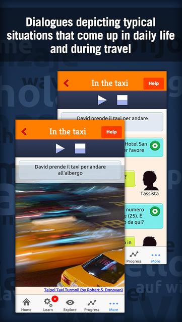 Learn Italian - MosaLingua screenshot 3