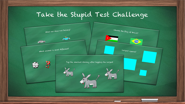 Stupid Test: Brainteasers, Trivia, and Logic screenshot 1