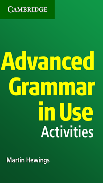 Advanced Grammar in Use Activities screenshot 1