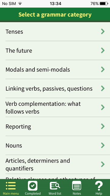 Advanced Grammar in Use Activities screenshot 2