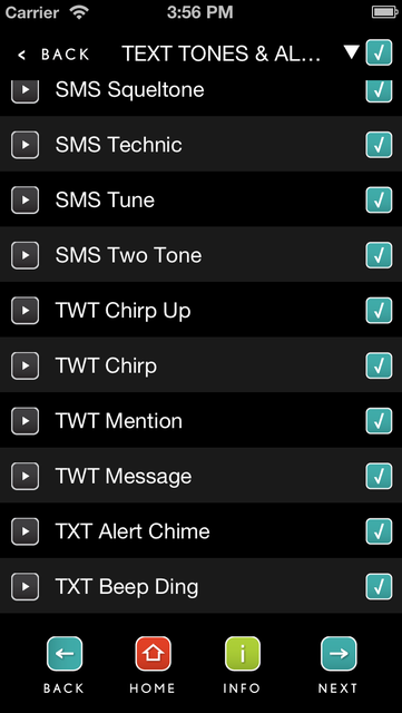 Ringtones Complete screenshot 4