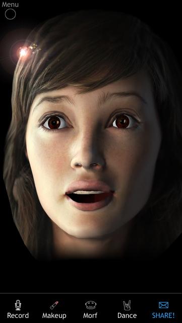 Morfo 3D Face Booth screenshot 1