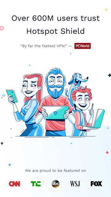 HotspotShield VPN & Wifi Proxy screenshot 6