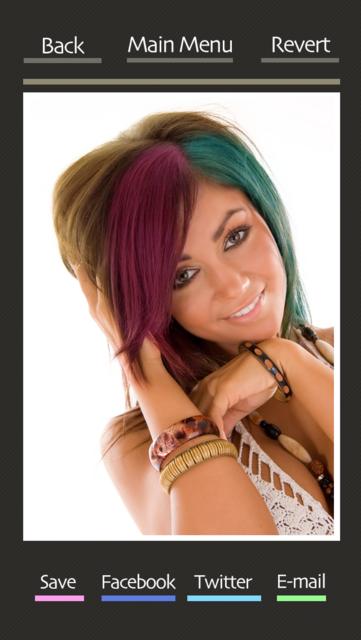 Hair Color Booth™ screenshot 5