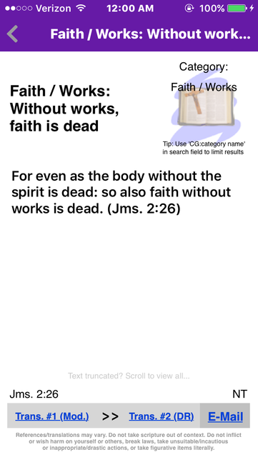 Catholic Bible References screenshot 3