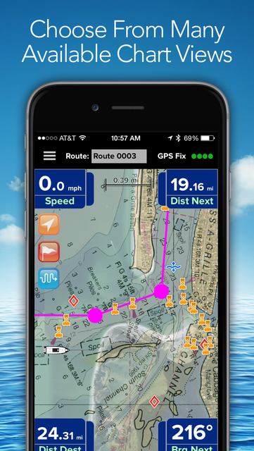 PRO CHARTS - Marine Navigation screenshot 5