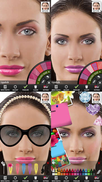 Makeup Touch screenshot 1