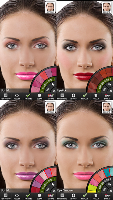Makeup Touch screenshot 2