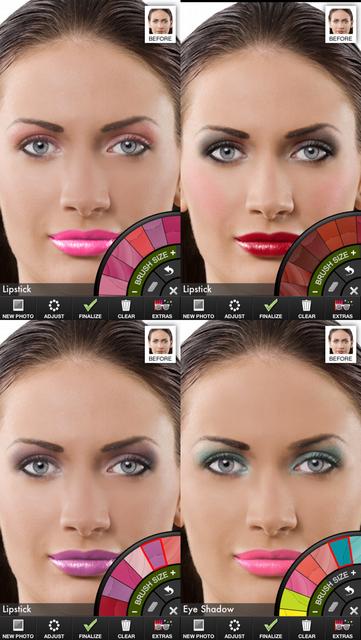 Makeup Touch screenshot 2