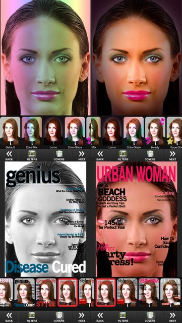 Makeup Touch screenshot 4