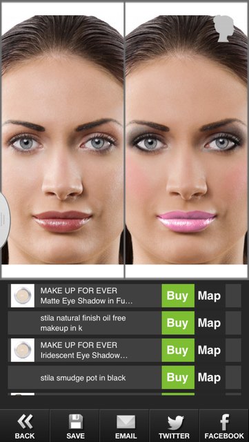 Makeup Touch screenshot 5