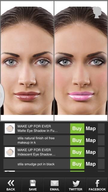 Makeup Touch screenshot 5