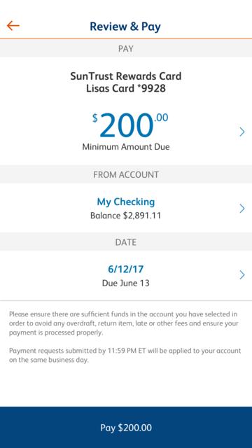 SunTrust Mobile App screenshot 4