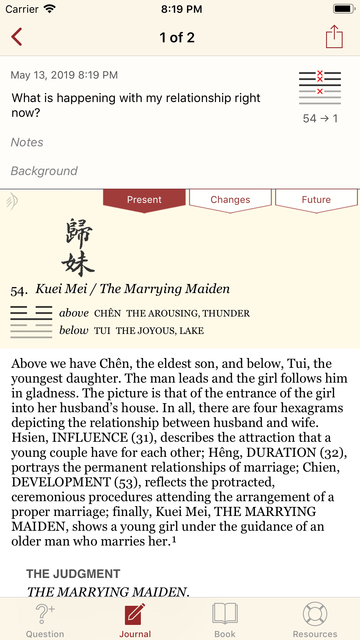 The I Ching or Book of Changes screenshot 8
