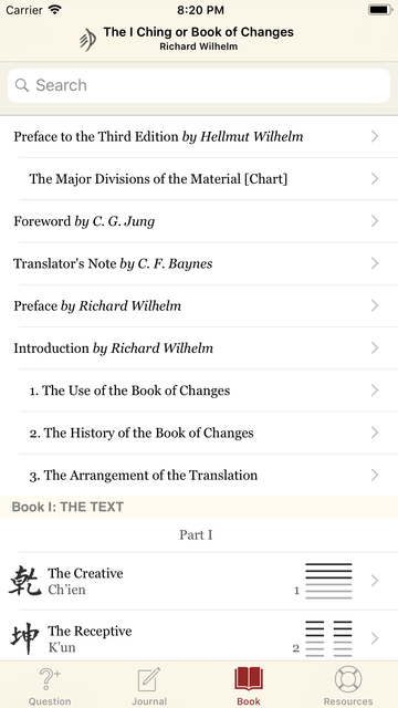 The I Ching or Book of Changes screenshot 10