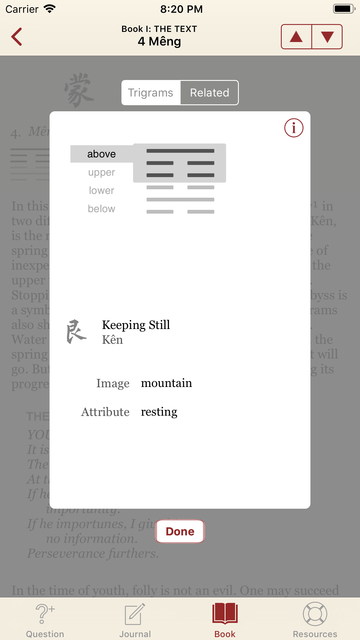 The I Ching or Book of Changes screenshot 12