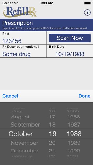 RefillRx Mobile screenshot 2