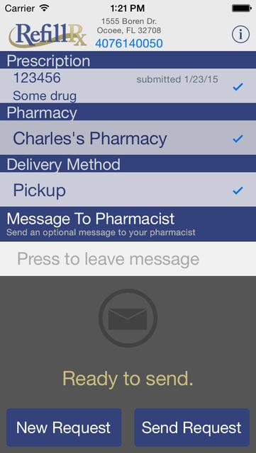 RefillRx Mobile screenshot 4