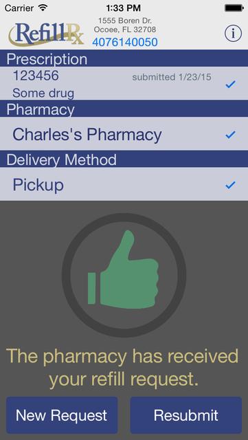 RefillRx Mobile screenshot 5