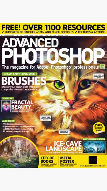 Advanced Photoshop Monthly screenshot 1