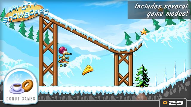 Rat On A Snowboard screenshot 12