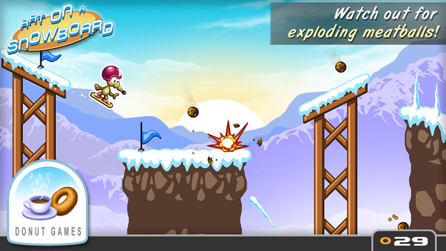 Rat On A Snowboard screenshot 14