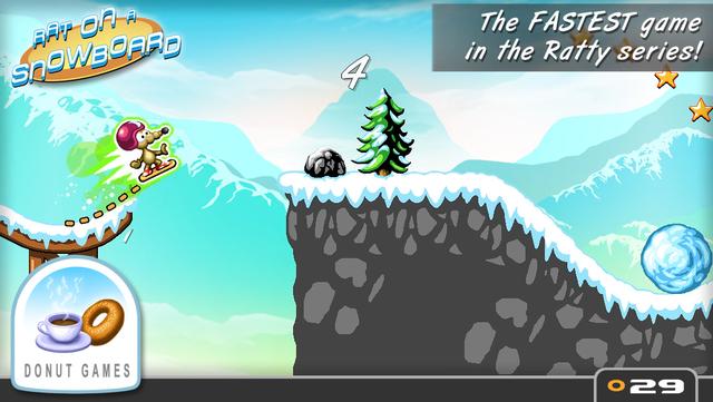 Rat On A Snowboard screenshot 25