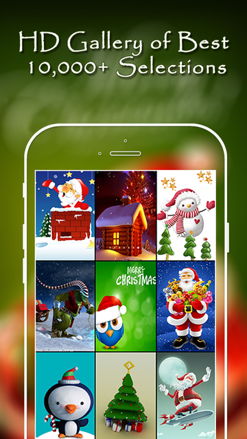 Christmas Wallpapers Pro® screenshot 5