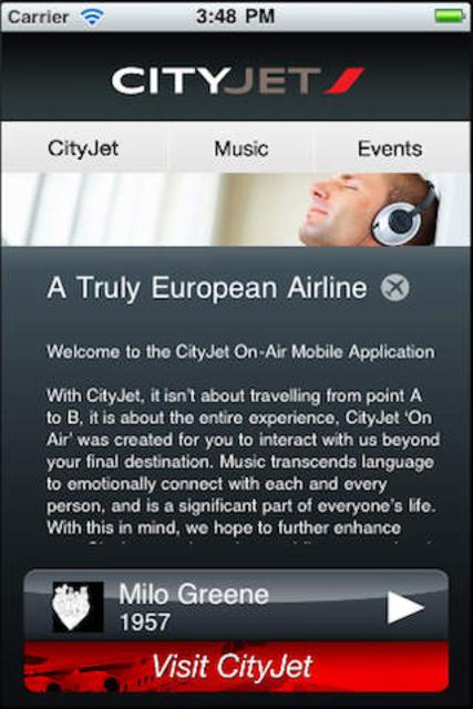 CityJet Music screenshot 1