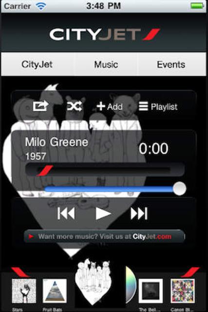 CityJet Music screenshot 2