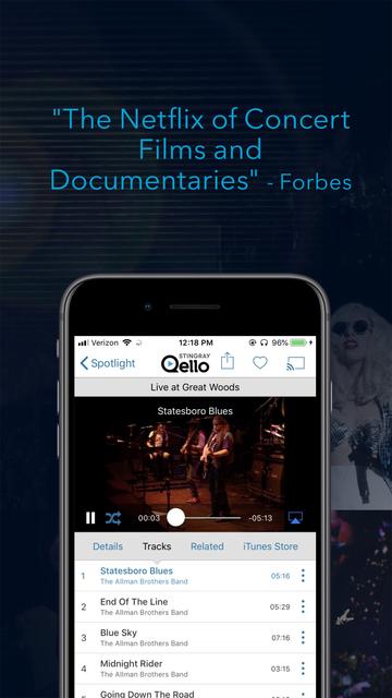 Qello Concerts by Stingray screenshot 6