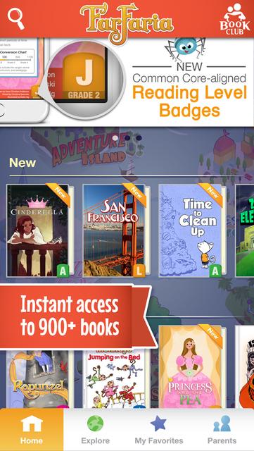 FarFaria Read Along Kids Books screenshot 1