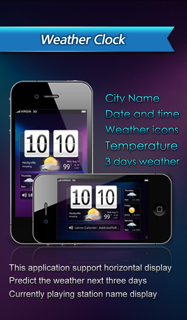 All-in-1 Radio (Weather+Clock+Recorder) screenshot 5