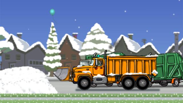 Snow Plow Truck screenshot 9