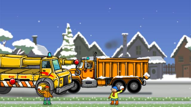 Snow Plow Truck screenshot 10