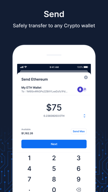 Blockchain Wallet: Buy Bitcoin screenshot 7
