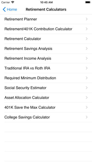 EZ Financial Calculators screenshot 9