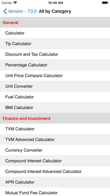 EZ Financial Calculators screenshot 10
