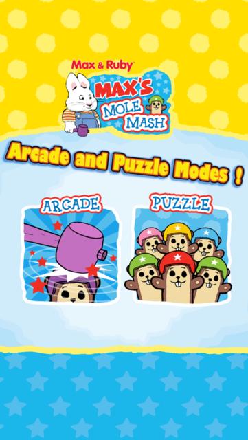 Max & Ruby: Max's Mole Mash screenshot 2