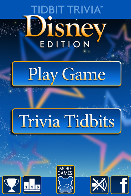 Tidbit Trivia - Disney Edition screenshot 1