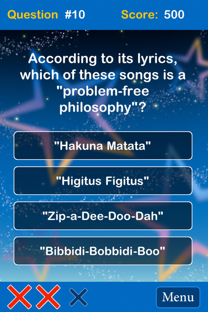 Tidbit Trivia - Disney Edition screenshot 2