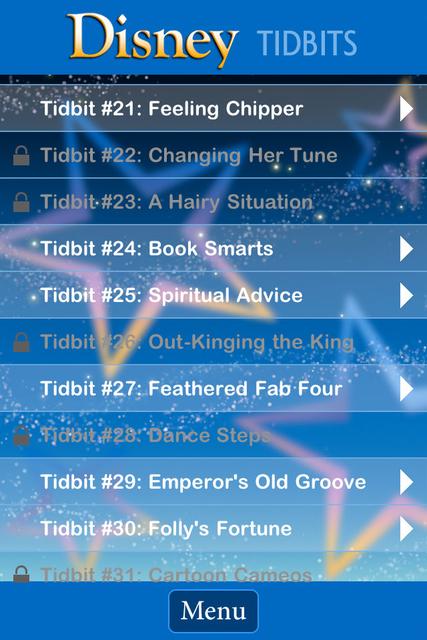 Tidbit Trivia - Disney Edition screenshot 4