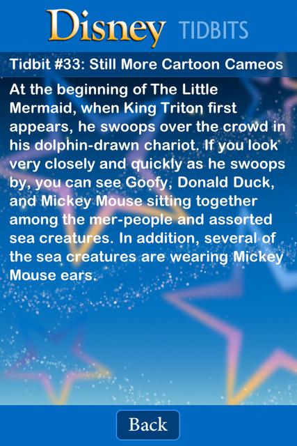 Tidbit Trivia - Disney Edition screenshot 5