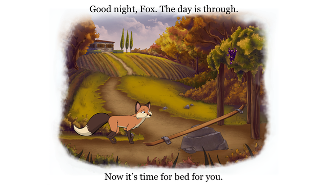 Bedtime Story: an animated Aesop Children's Book for helping children to sleep screenshot 1